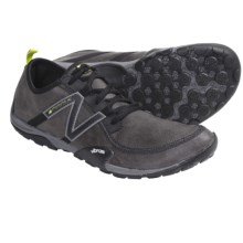 New Balance MT10 Minimus Leather Trail Shoes - Minimalist (For Men) in Grey/Green - Closeouts