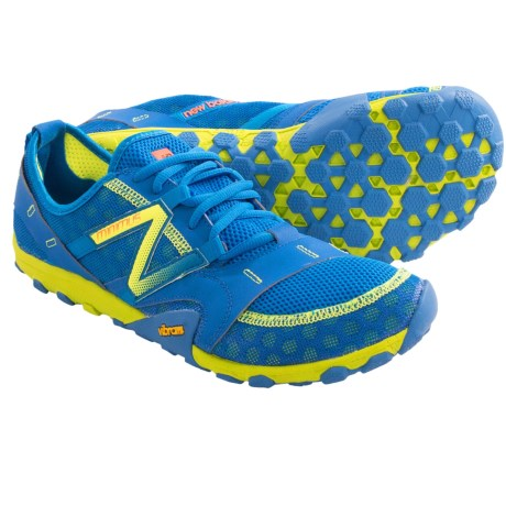 New Balance MT10 Minimus Trail Running Shoes (For Men) in Blue/Yellow