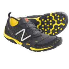 New Balance MT10 Minimus Trail Running Shoes (For Men) in Grey/Yellow - Closeouts