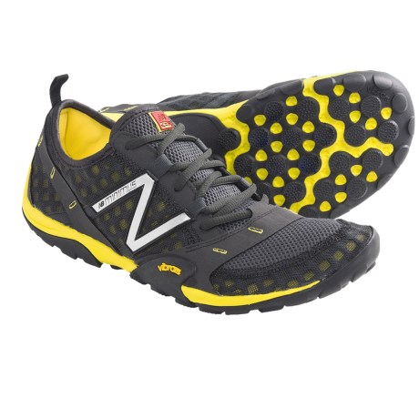 New Balance MT10 Minimus Trail Running Shoes (For Men) in Grey/Yellow