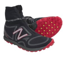 New Balance MT110WR Trail Running Shoes (For Men) in Black/Red - Closeouts