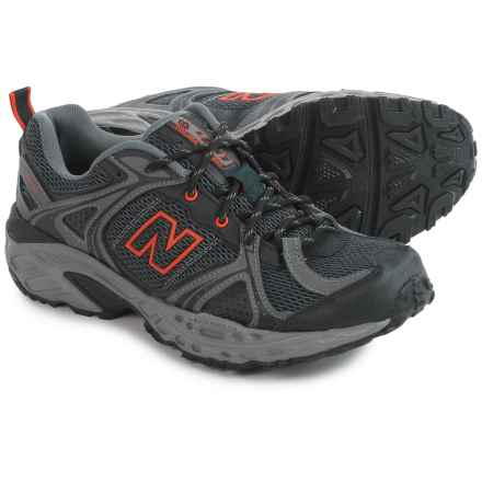 New Balance MT481 Trail Running Shoes (For Men) in Black/Orange - Closeouts