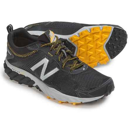 New Balance MT610v5 Trail Running Shoes (For Men) in Black/Gold Rush - Closeouts