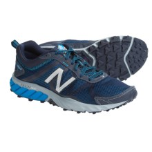 New Balance MT610v5 Trail Running Shoes (For Men) in Blue/Grey - Closeouts