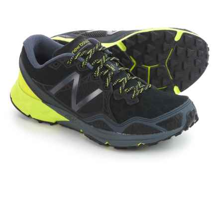 New Balance MT910V3 Trail Running Shoes (For Men) in Black/Thunder - Closeouts