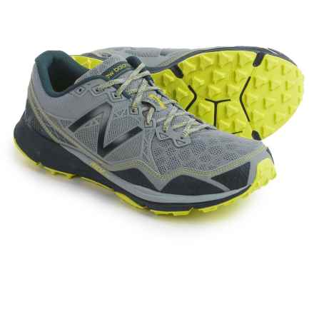 New Balance MT910V3 Trail Running Shoes (For Men) in Grey/Yellow - Closeouts