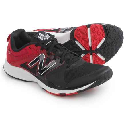 New Balance MX777 Cross-Training Shoes (For Men) in Black/Red - Closeouts