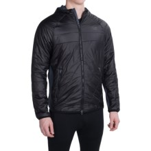 New Balance NB Heat Hybrid Jacket - Insulated (For Men) in Black - Closeouts