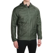 New Balance NB Heat Hybrid Jacket - Insulated (For Men) in Slate Green/Defense Green - Closeouts