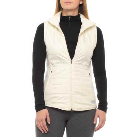 New Balance NB Heat Hybrid Vest - Insulated (For Women) in Off White - Closeouts