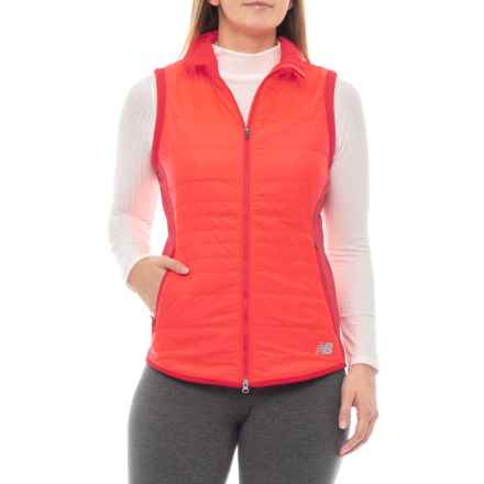 NB Heat Hybrid Vest - Insulated (For Women) in Red - Closeouts