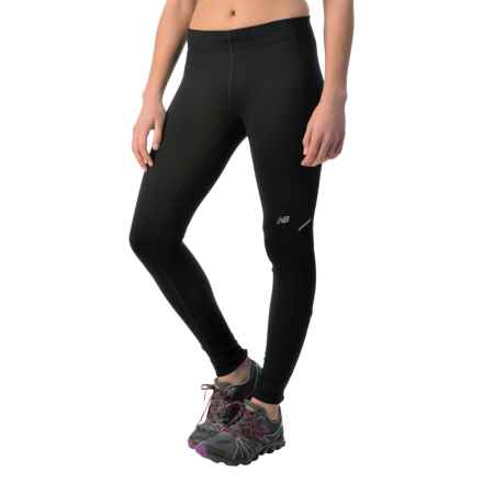 New Balance NB Heat Tights (For Women) in Black - Closeouts