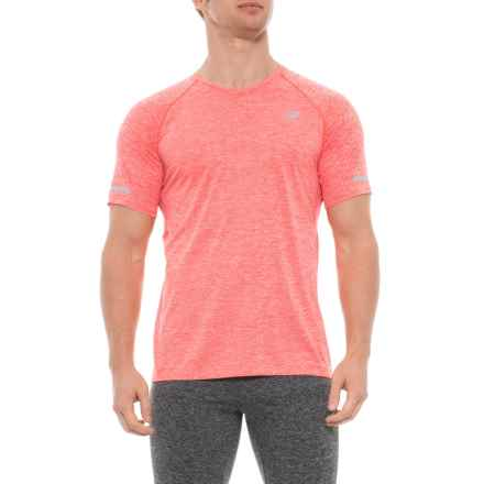 NB Ice 2.0 Mesh T-Shirt - V-Neck, Short Sleeve (For Men) in Flame - Closeouts