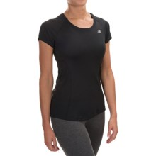 New Balance NB Ice Shirt - Short Sleeve (For Women) in Black - Closeouts