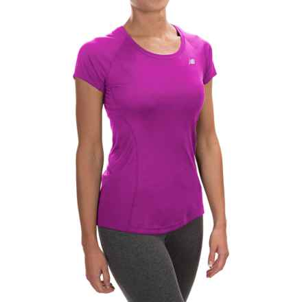 New Balance NB Ice Shirt - Short Sleeve (For Women) in Urchin - Closeouts