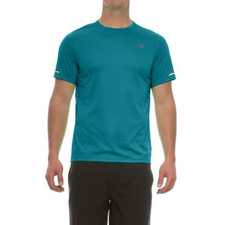 New Balance NB Ice T-Shirt - Crew Neck, Short Sleeve (For Men) in Deep Ozone Blue - Closeouts