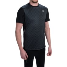 New Balance NB Ice T-Shirt - Short Sleeve (For Men) in Black - Closeouts