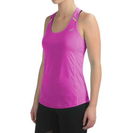 New Balance NB Ice Tank Top - Racerback (For Women) in Fusion - Closeouts