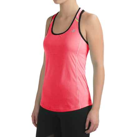 New Balance NB Ice Tank Top - Racerback (For Women) in Guava - Closeouts