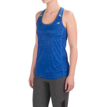 New Balance NB Ice Tank Top - Racerback (For Women) in Majestic - Closeouts
