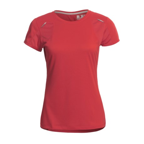 New Balance NBX Adapter T-Shirt - Short Sleeve (For Women) in Tomato