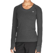 New Balance NBX Minimus Shirt - Long Sleeve (For Women) in Black - Closeouts