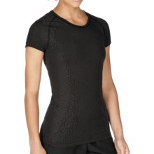 New Balance NBX Minimus Shirt - Short Sleeve (For Women) in Black - Closeouts