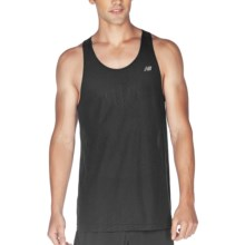 New Balance NBX Minimus Singlet Top - Sleeveless (For Men) in Black - Closeouts
