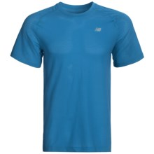 New Balance NBX Minimus T-Shirt - X-Static®, Short Sleeve (For Men) in Kinetic Blue - Closeouts