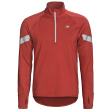 New Balance NBX Welded Jacket - Zip Neck (For Men) in Pompeian Red - Closeouts