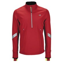New Balance NBX Windblocker Jacket - Zip Neck (For Men) in Pompeian Red - Closeouts