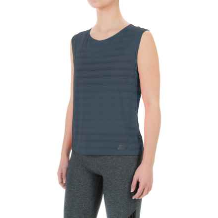 New Balance Newbury Fashion Layer T-Shirt - Sleeveless (For Women) in Galaxy - Closeouts