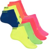 New Balance No-Show Liner Socks - 8-Pack, Below the Ankle (For Women)