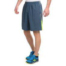 "New Balance Novelty Knit Shorts - 9"" (For Men) in Gravity Hi Lite - Closeouts"