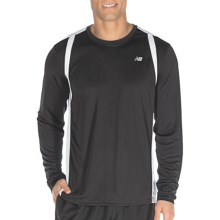 New Balance NP Shirt - Long Sleeve (For Men) in Black - Closeouts