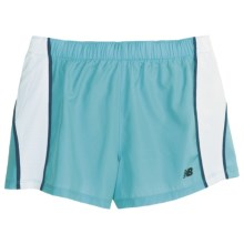 New Balance NP Shorts - Inner Brief (For Women) in Bachelor Button/White/Seaport - Closeouts