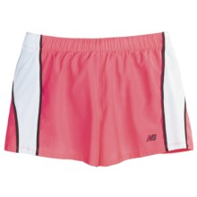 New Balance NP Shorts - Inner Brief (For Women) in Pink/White/Black - Closeouts