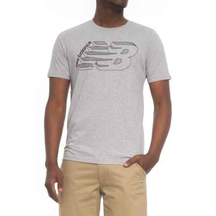 New Balance OG T-Shirt - Short Sleeve (For Men) in Athletic Grey - Closeouts