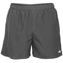 New Balance On the Rise Shorts - 5'' (For Men) in Grey - Closeouts