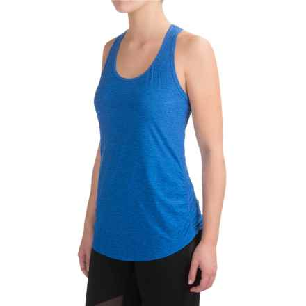 New Balance Perfect Tank Top - Racerback (For Women) in Bluefin Heather - Closeouts