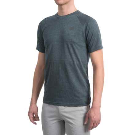 New Balance Pindot Breathe Shirt - Short Sleeve (For Men) in Super Cell Heather - Closeouts