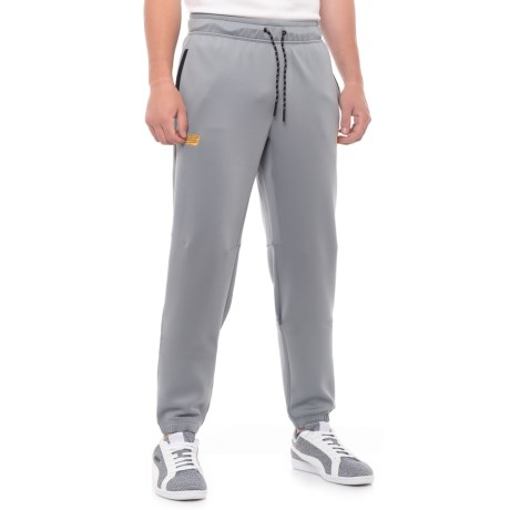 New Balance Pitch Black Track Pants (For Men) in Steel