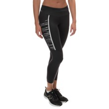 New Balance Precision Run Capris (For Women) in Black - Closeouts