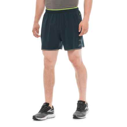 New Balance Precision Running Shorts - Built-In Lining (For Men) in Galaxy - Closeouts