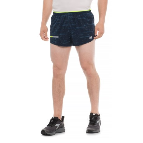 "New Balance Print Impact Shorts - 3"" (For Men) in North Sea"