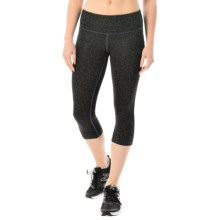New Balance Printed Capris (For Women) in Black - Closeouts