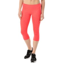 New Balance Printed Capris (For Women) in Pink Zing - Closeouts