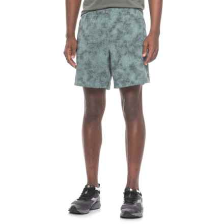 New Balance Printed Shorts - Built-In Liner (For Men) in Grey - Closeouts