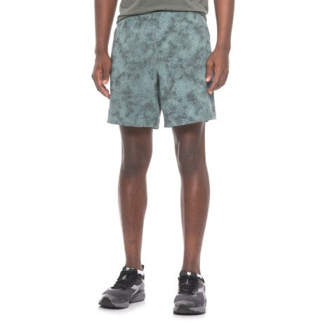 New Balance Printed Shorts - Built-In Liner (For Men) in Grey