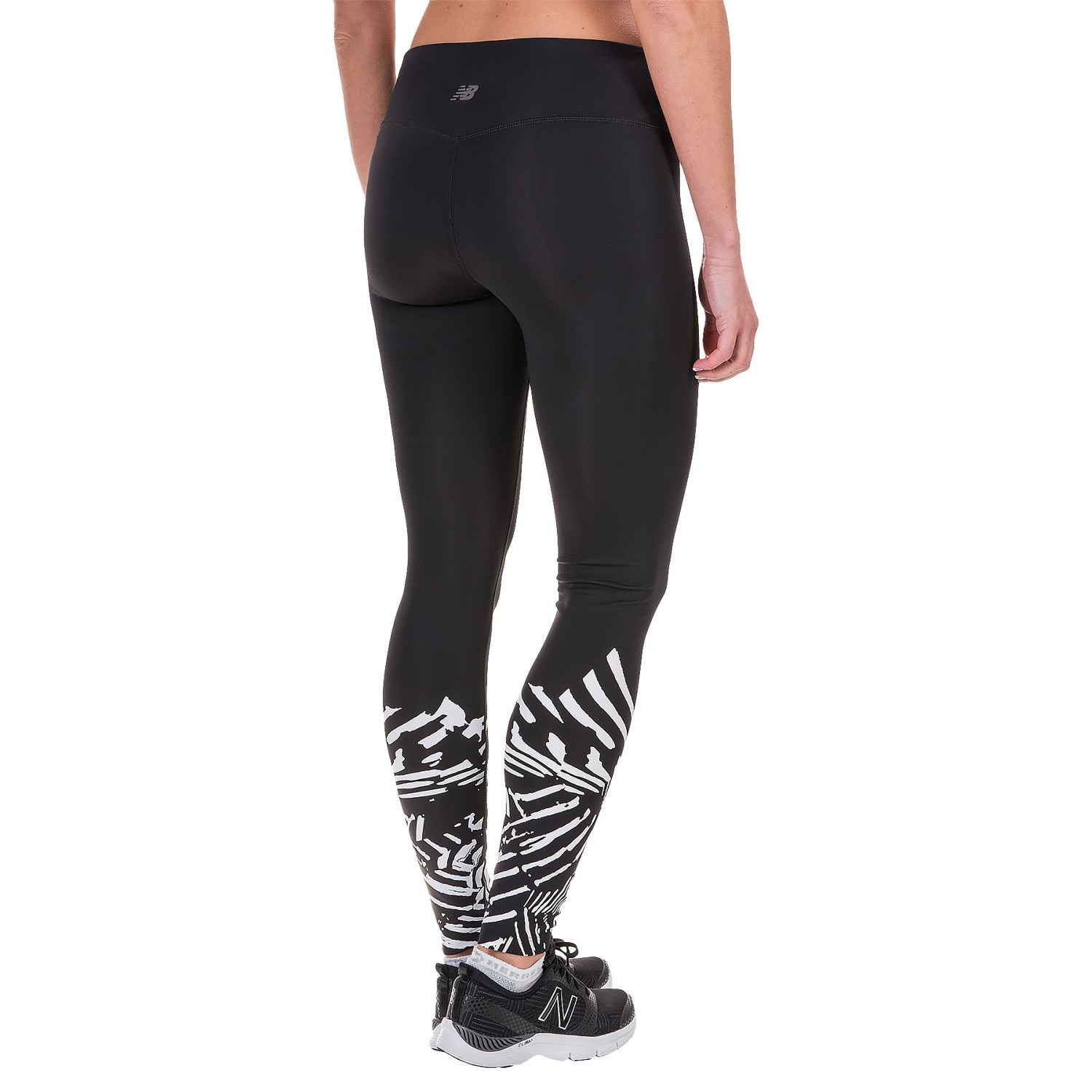 New Balance Printed Tights (For Women) - Save 50%